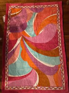 """vintage emilio pucci beach towel mint 55""""x38"""""""
