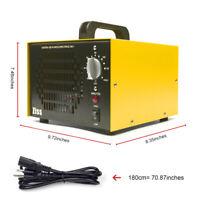 Ozone Generator 7000mg/h Air Purifier O3 Mildew Odor Remover Home Car Deodorizer