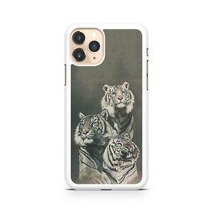Majestic Powerful Fierce Viscous Tough Tiger Animals Family Phone Case Cover