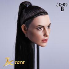 JXtoys 1/6 Wonder Woman Gal Gadot JX-09B Head Model Fit 12'' Female Figure