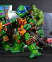 """4PCS Set Team TMNT TEENAGE MUTANT NINJA TURTLES Colorful Headband 5"""" Figure Toys"""