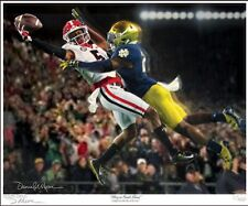 """UGA GEORGIA """"Glory in South Bend"""" Large Limited Edition Print by Daniel Moore"""