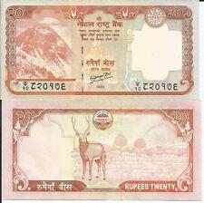 NEPAL BILLETE 20 RUPIAS 2010 P 62 SIG. 19