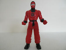 FIGURINE KARATÉ FIGHTERS - RED NINJA ROUGE - MB MILTON BRADLEY 1995
