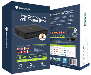 Pre Configured Liberty Shield VPN Router - Pro
