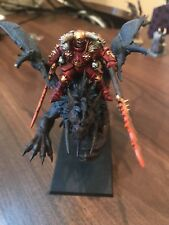 Warhammer Age of Sigmar Chaos Lord on Manticore-Custom Painted by Cem