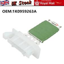 Car Blower Motor Heater Fan Resistor For VW Caddy Passat Jetta Golf 1K0959263A ~