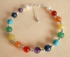 Gemstone Healing Chakra Energy Anklet Ankle Bracelet Gift Bag