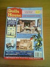 DOLLS HOUSE  and Miniature Scene MAGAZINE - ISSUE: 62  Aug 1999