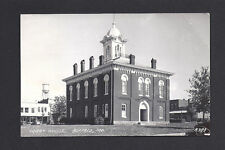 Buffalo Missouri MO 1940s RPPC Court House and Toiwn Square, Stores, Old Cars