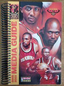 2002-03 ATLANTA HAWKS MEDIA GUIDE - 2003 NBA ALL-STAR GAME - SHAREEF ABDUR-RAHIM