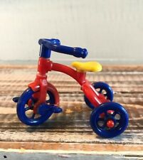 Vintage Renwal DollHouse Furniture Red/Yellow/Blue Trike Tricycle NO. 7