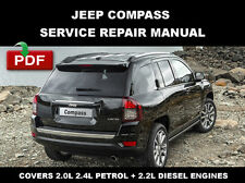 JEEP COMPASS 2011 2012 2013 2014 2015 2016 SERVICE REPAIR WORKSHOP MANUAL