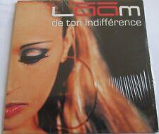 "LÂÂM - CD SINGLE PROMO ""DE TON INDIFFÉRENCE"" RADIO EDIT - NEUF SOUS BLISTER"