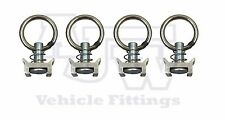 4 x Cargo Load Ring For Unwin Rail Track Land Rover Expedition 4x4 Van Koller