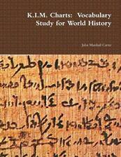 K. I. M. Charts : Vocabulary Study for World History by John Marshall Carter...