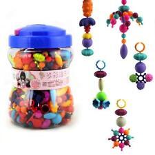 440Pcs Pop Snap Bead Jewelry DIY Bracelet Necklace Jewelry Making Kit for Kids