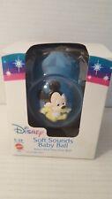 Disney Mattel 7022 Soft Sounds Baby Ball Nrfb