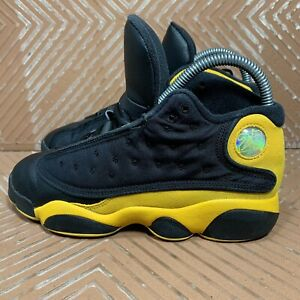 Air Jordan 13 Retro PS 'Melo Class of 2002' Black/Red/Gold Youth 3Y 414575-035