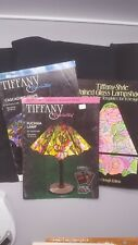 stained glass pattern books lot of 3