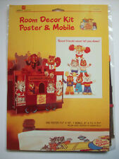 Get Along Gang mobile and poster unopen room decor kit  1985 American Greetings