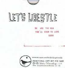 (DA537) Let's Wrestle, We Are The men You'll Grow To Love Soon - 2009 DJ CD