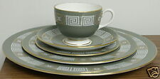 "Wedgwood China set ""Asia"" Green 5 piece place setting"