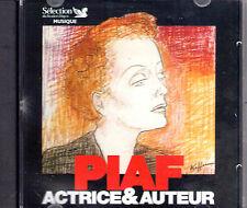 CD 9T EDITH PIAF ACTRICE & AUTEUR DAMIA/THEO SARAPO/CONSTANTINE READER' DIGEST