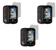 3 Clear Screen Protector for LG Extravert VN271 AN271 UN271 VN271PP VN271SS
