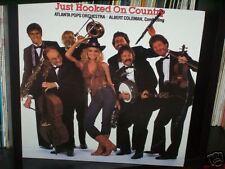 "ATLANTA POPS ORCHESTRA JUST HOOKED ON COUNTRY - AUSTRALIA LP RECORD VINYL 12"" 33"
