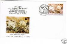 Chile 1978 #935 FDC Battle of Rancagua