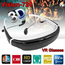 "3D Video Glasses 68"" Virtual Screen HD Glass Goggles FPV Digital Display Monitor"
