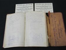 c 1920 Sheet Metal Workers Notebook Drawings Notes San Francisco Union 140 Id'd