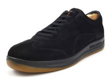 Louis Vuitton Authentic Men's Suede Lace Up Sneakers Size 10 , 11 US Shoes Black