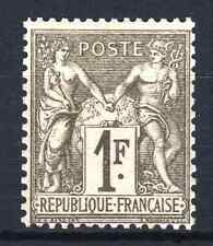 "FRANCE STAMP TIMBRE N° 72 "" SAGE 1F BRONZE 1876 "" NEUF x TB SIGNE  N769"