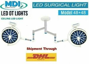 Examination LED Light Operation Theater Surgical Light ceiling LED light double