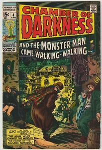 Chamber of Darkness  #4   (Marvel 1970)   VFN-