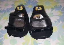 BUILD A BEAR Workshop Shoes Bear Bootique Black Suede Heel Shoes New
