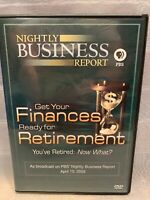 Nightly Business Report PBS Get Your Finances Ready Retirement DVD 2009