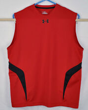 Under Armour Heat Gear Muscle Shirt Size Small