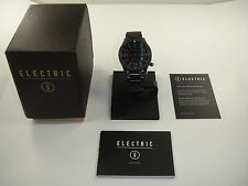 AUTHENTIC ELECTRIC WATCH FW01 SS ALL BLACK NEW IN THE BOX! EW0010010005