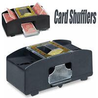 Automatic Playing Cards Shuffler Poker Sorter Casino One Two Deck Card Machine #