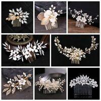 Chapeau de forage Bijoux de la mariée La mariée Peigne Pince à cheveux Mariage