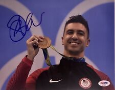 Anthony Ervin Signed Autographed USA Rio Olympics Gold Medal 8x10 Photo Psa/Dna