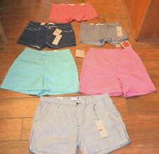 Levi's Casual Regular Size 100% Cotton Shorts for Women