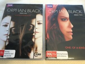 Orphan Black : Series 1 & 2, One & Two DVD 🍿 6 DVDs total - Region 4 - AS NEW