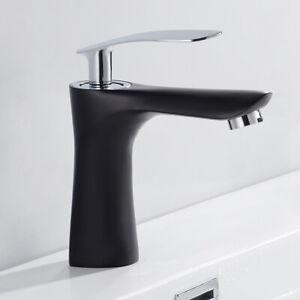 Basin Taps Bathroom Washroom Monobloc Mixer Tap with UK Standard Hoses Brass //