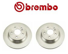 Mercedes W204 W211 W215 Set of 2 Rear Disc Brake Rotors BREMBO 09 A358 10