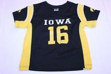 Toddler Iowa Hawkeyes #16 3T Football Jersey (Black) Colosseum Athletics
