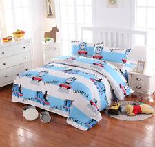 THOMAS Kids Quilt/Doona/Duvet Cover Set Single Queen Size Pillowcase  100%Cotton